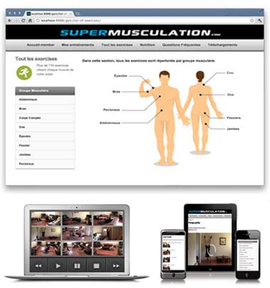 Plus de 110 exercices sans matériel en vidéos